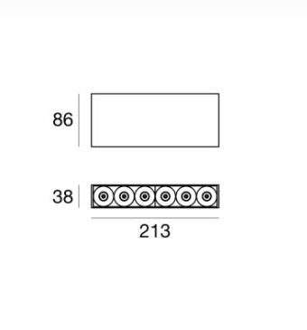 SURFACE CEILING LIGHTING DEVICE P28