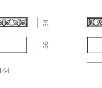 SURFACE CEILING LIGHTING MAGNETIC SYSTEM P30